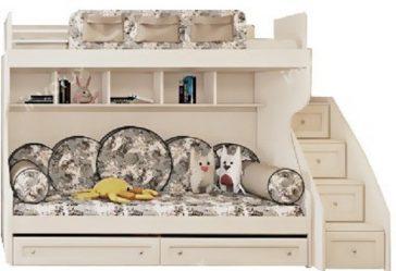 Двухъярусная Кровать с диваном внизу — Стильность и практичность (90+ Фото)