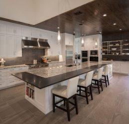 Планировка Кухни в частном доме: 175+ Фото Разнообразий стилей, цвета и уюта