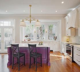 Фиолетовая кухня: Завораживающий дух или аура покоя? 170+(Фото) для безупречного дизайна интерьера