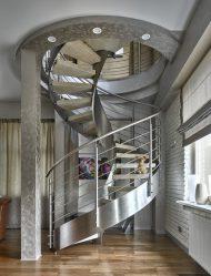 290+ Фото красивых Вариантов лестниц на второй этаж в частном доме (деревянные, металлические, бетонные)