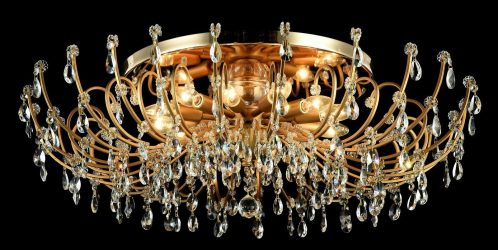 Современные люстры для гостиной: 195+ (Фото) Интерьерных решений