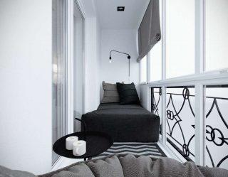 Как обустроить Маленький балкон в квартире: Стильно, Красиво, Практично? 190+ (Фото) Интерьеров с отделкой