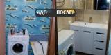 Муж для жены сделал романтичный ремонт в ванной своими руками. Фото До/После