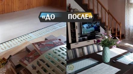 Муж и жена сделали ремонт в дачном домике на 250 тыс.р. Фото До/После