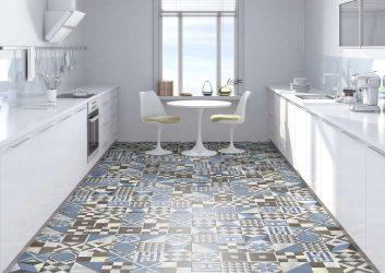 Керамическая напольная плитка – с любовью из Испании. 240+ (Фото) для кухни, ванной, прихожей