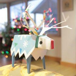 Украшения игрушками из бумаги на новый 2018 год Собаки. Сделайте праздник по-настоящему ярким!