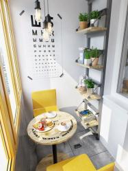 Обеденная зона на кухне: Зонирование, Свет и Отделка. Как выделить и оформить с помощью простых идей? (170+Фото)