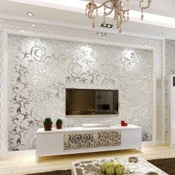 Красивые Обои в гостиную: 150+ Фото интерьеров. Современные идеи комбинирования