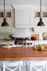 Кабанчик в интерьере: Особенности и способы укладки (кухонный фартук, пол, ванная, стены). В чем секрет популярности? (120+Фото)