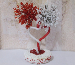 Поделки из бисера — основа для начинающих со схемами (деревья, цветы, картины). Уроки красоты своими руками (190+Фото)