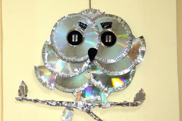 Вторая жизнь ватных и компьютерных дисков — Блестящие идеи поделок своими руками (95+Фото). 11 гениально простых пошаговых мастер-классов