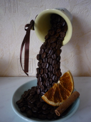 Самые необычные и интересные поделки из кофе и кофейных зерен на 5+. Легкие мастер-классы для начинающих пошагово (130+Фото)