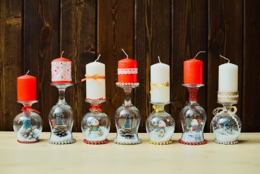 Как сделать Красивые Подсвечники своими руками на Новый год (95+ Фото): Оригинальные идеи для мастер-классов