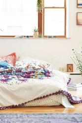 Современный дизайн покрывала на кровать в спальню — Красивые и Cтильные Новинки (170+ Фото)