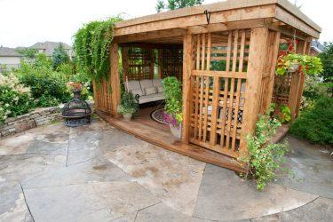 Варианты красивых садовых Беседок своими руками (245+ Фото) — Как превратить в настоящее украшение? (из дерева, из металла, из поликарбоната)