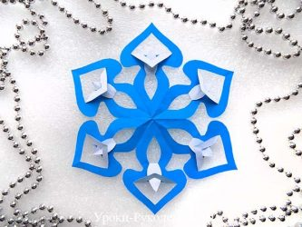 Простые и объемные Снежинки из бумаги своими руками: 75+ Фото с Пошаговой инструкцией. Украшаем дом к празднику (+Отзывы)