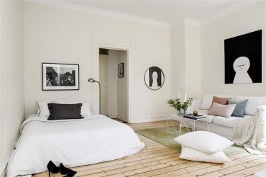 Способы Зонирования комнаты на спальню и гостиную: 195+ Фото Лучших Идей дизайна с примерами