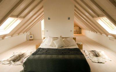 Удивительные идеи дизайна Спальни на мансарде: 200+ (Фото) Интерьеров в Современном стиле