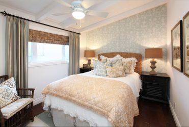 Спальня с обоями двух цветов 210+ Фото: Идеи дизайна, которые никого не оставят равнодушным