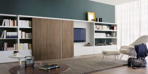 Современные стенки в гостиную (370+ Фото): Современный стиль комнаты