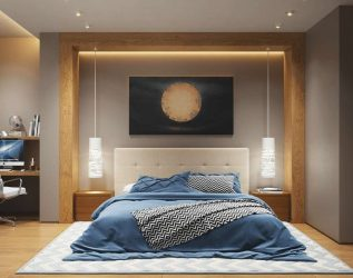 Современные Светильники в интерьере: 175+ (Фото) Потолочных, Настенных, Поворотных