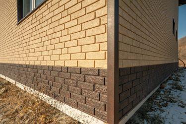 Цокольный сайдинг: Особенности материала. 180+(Фото) наружной отделки своими руками (камень, пластик, дерево)