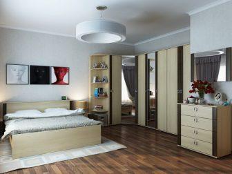 Угловые спальни с наполнением (110+ Фото дизайнов) Создаем Интерьер своими руками