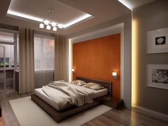 Узкая спальня: Варианты дизайнерского решения. Все тонкости оптимального размещения (115+ Фото)