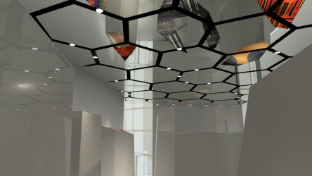 Зеркальный потолок: Особенности интерьерного решения (в ванной, гостиной, прихожей). Блестящая отделка для эффектного дизайна